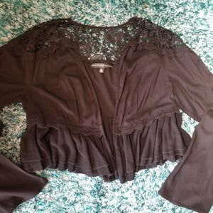 TORRID INSIDER COLLECTION Boho Style black jacket